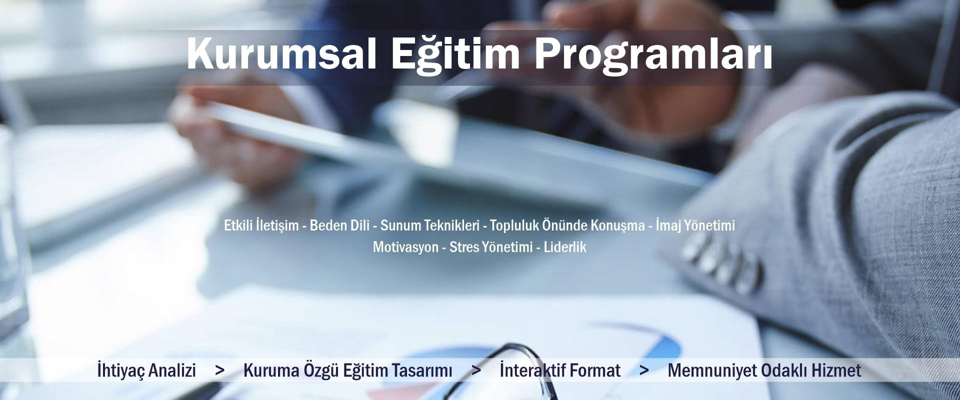 Kurumsal Eğitim Programları